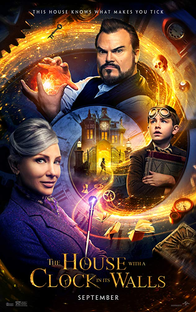 The House With a Clock in Its Walls (2018) Fragman İzle