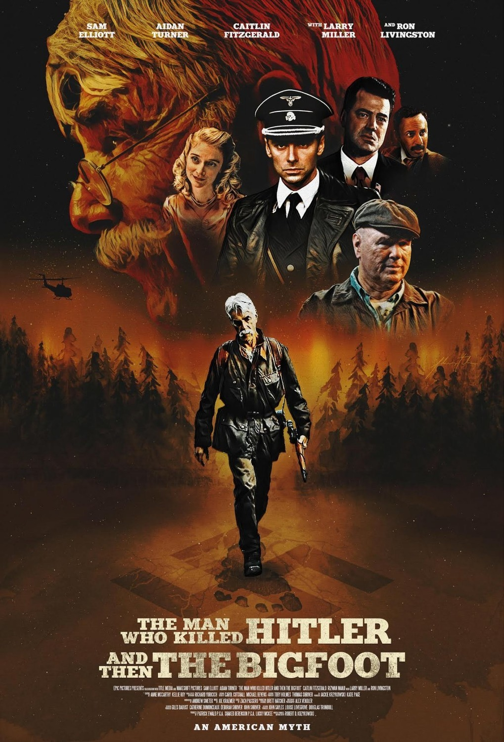 The Man Who Killed Hitler and Then The Bigfoot (2018) Fragman İzle