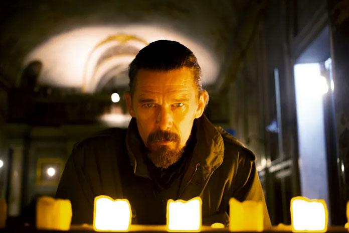 "Fragman: Hawke, Ferrera'nın ""Zeros and Ones"" filminde"